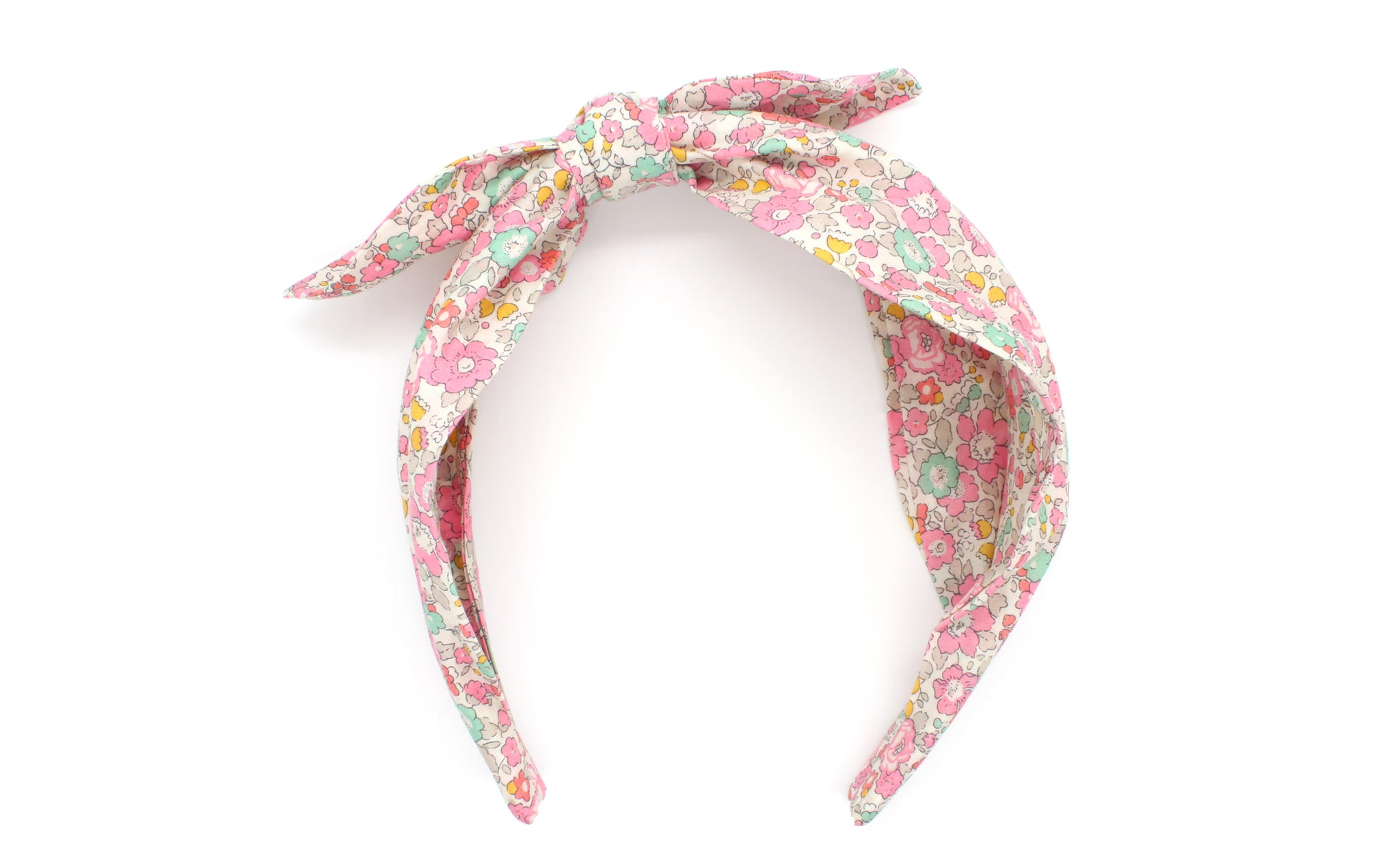 Women's Side Bow Headband - Liberty Betsy Ann D Print