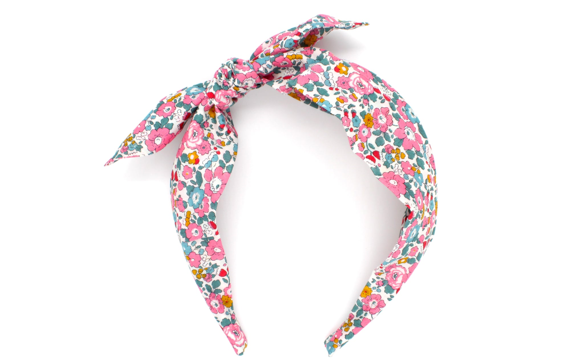 Women's Side Bow Headband - Liberty Betsy Ann E Print