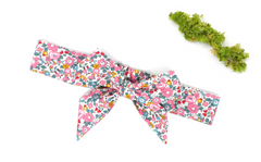 Girl's Bow Headband - Liberty Betsy Ann E Print
