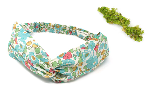 Women's Twist Headband - Liberty Betsy D Print