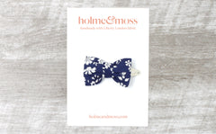 Bow Hair Clip - Liberty Capel A-40 Print