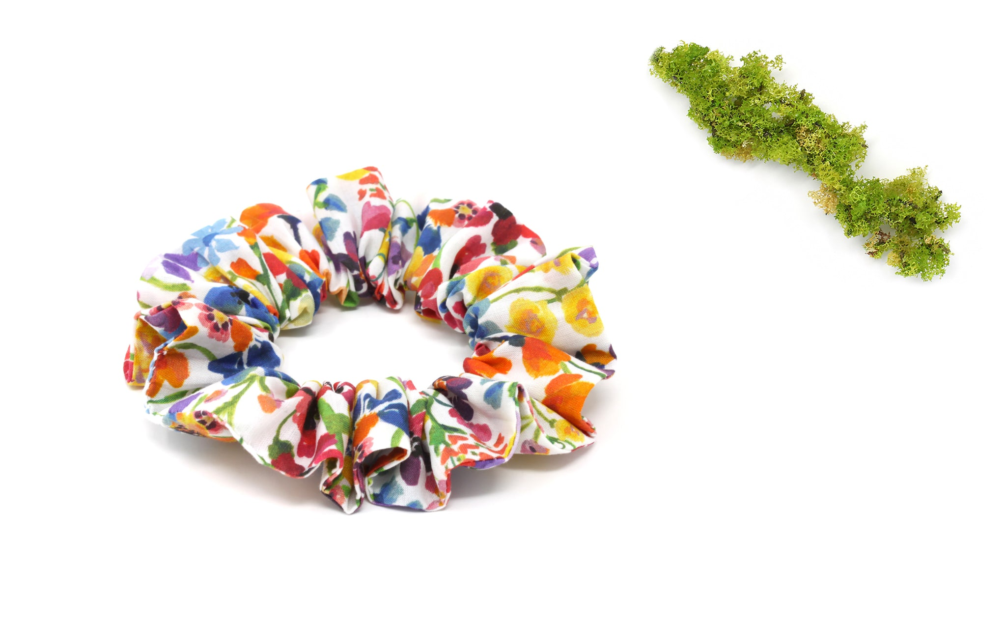 Scrunchie - Liberty Dreams of Summer A Print