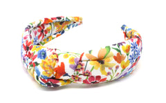 Women's Padded Knot Headband - Liberty Dreams of Summer A Print