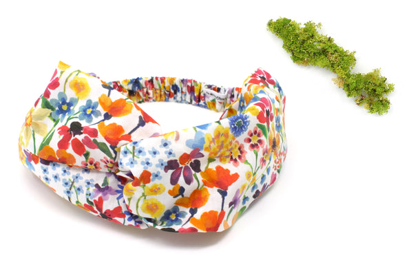 Women's Twist Headband - Liberty Dreams of Summer A Print
