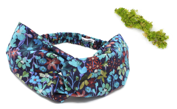 Women's Twist Headband - Liberty Dreams of Summer B Print
