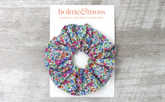 Scrunchie - Liberty Emma and Georgina A-40 Print