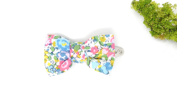 Bow Hair Clip - Liberty Emma and Georgina B-40 Print