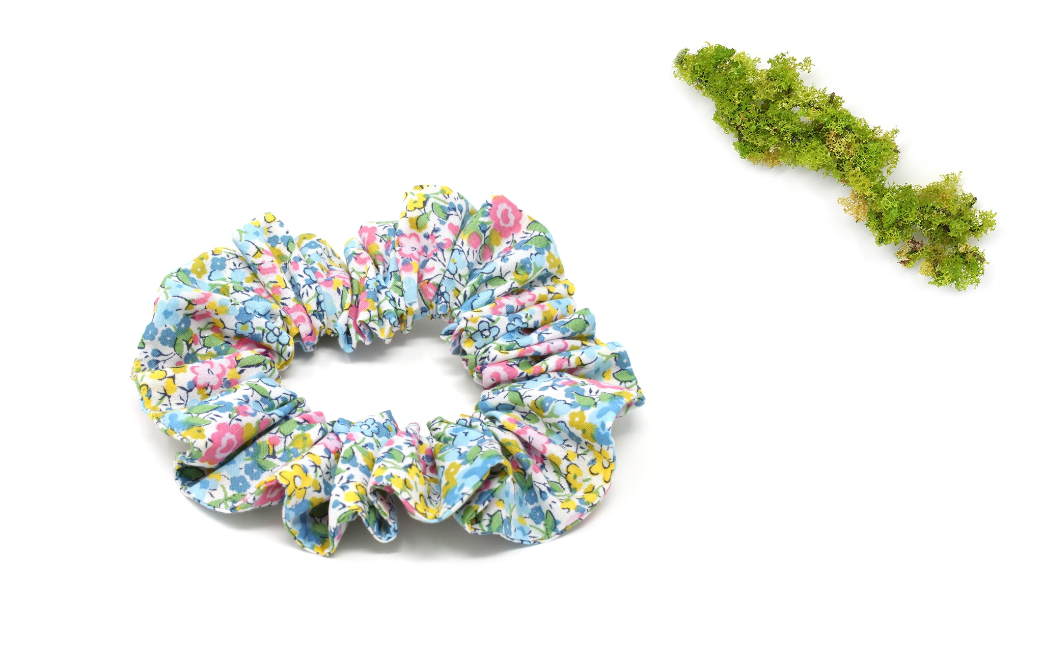 Scrunchie - Liberty Emma and Georgina B-40 Print