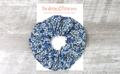 Scrunchie - Liberty Emma and Georgina B Print