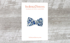 Bow Hair Clip - Liberty Emma and Georgina B Print