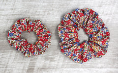 Scrunchie - Liberty Emma and Georgina C Print
