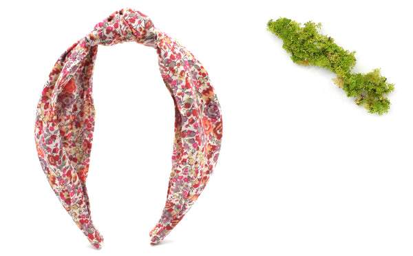 Women's Classic Knot Headband - Liberty Emma and Georgina A Print