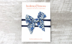 Baby Bow Headband - Liberty Emma and Georgina B Print
