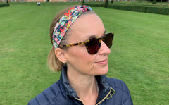 Women's Twist Headband - Liberty Betsy A-40 Print