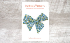 Large Bow Hair Clip - Liberty Pepper T Print