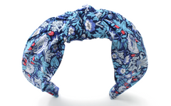 Women's Classic Knot Headband - Liberty Strawberry Thief M Print