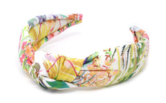 Women's Padded Knot Headband - Liberty Tresco F Print