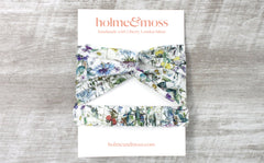 Women's Twist Headband - Wild Flowers Print
