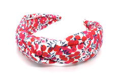 Women's Padded Knot Headband - Wiltshire Berry S Print