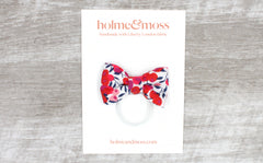 Bow Hair Band - Liberty Wiltshire Berry S Print