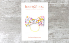 Bow Hair Band - Liberty Wiltshire Bud A Print