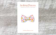 Bow Hair Clip - Liberty Wiltshire Bud A Print