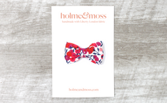 Bow Hair Clip - Liberty Wiltshire Berry S Print