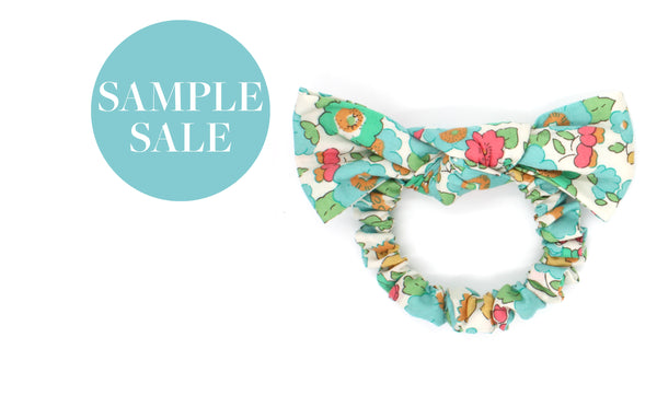 Women's and Girls' Bow Scrunchies - Liberty Betsy D Print