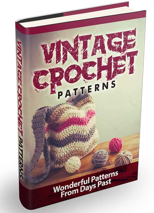 Vintage Crochet Patterns - BestTrendsShop.com