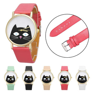 Peeping Black Cat Watch - BestTrendsShop.com