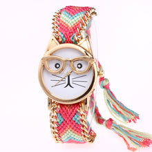 Cat Watch With Knitted Band - BestTrendsShop.com