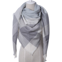 Winter Triangle Cashmere Scarf