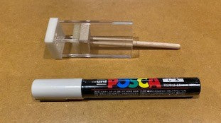 Square Queen Marking tube with Marking Paint Pen