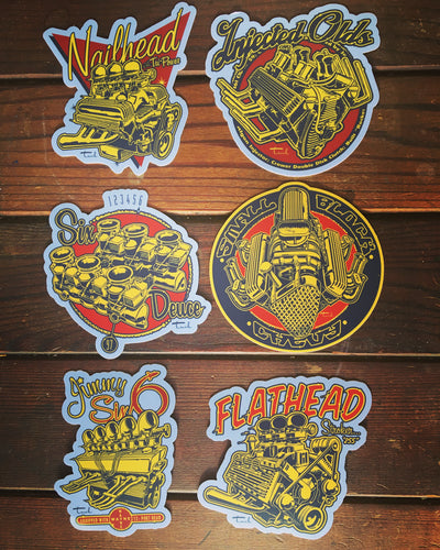 Super Sticker Six Pack