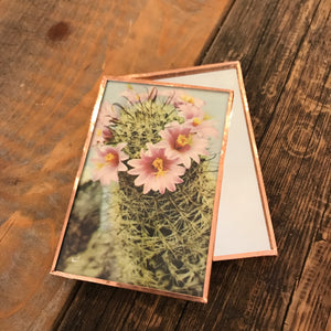 Cactus Bloom Pocket Mirror