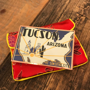 Tucson the Sunshine City Pocket Mirror