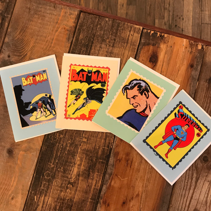 Superhero Cards