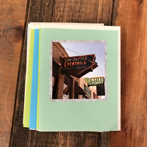 Tucson Bar Signs Cards