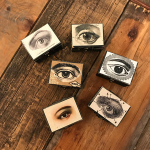 Small Eye Trinket Box