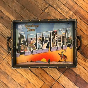 Arizona Greetings Tray