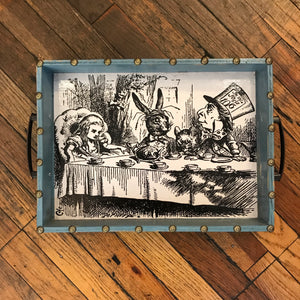 Alice Tea Party Tray