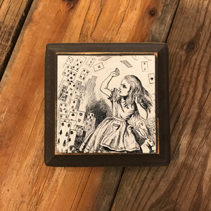 Alice in Wonderland Plaque