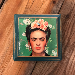 Colorful Frida Plaque