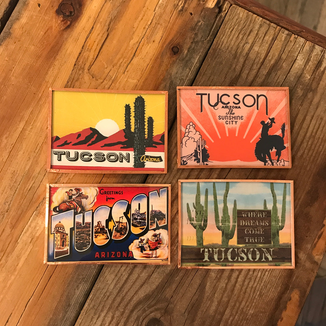 Greetings from Tucson Magnet Set