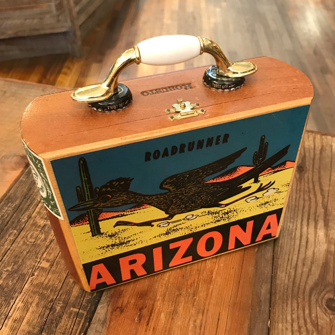 Roadrunner Cigar Box