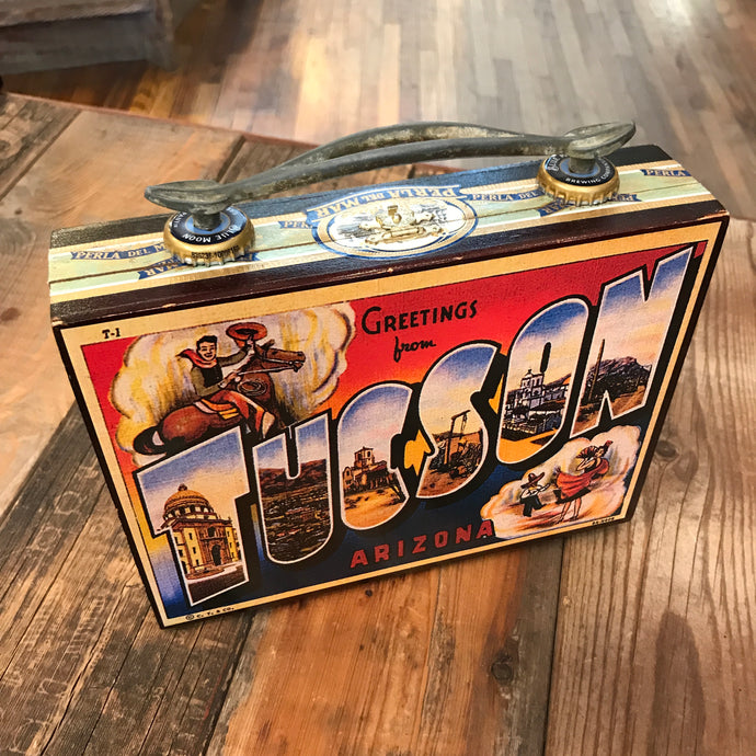 Tucson Greetings Cigar Box