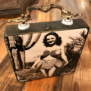 Cactus Lady Cigar Box