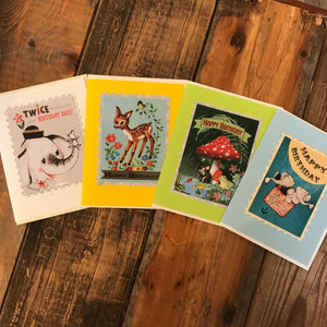 Birthday Animals Cards