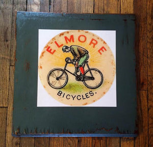 Elmore Bicycles Cabinet Door
