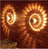 Spiral Scone LED Wall Light